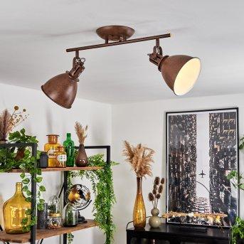 Plafonnier Koppom Rouille, 2 lumières