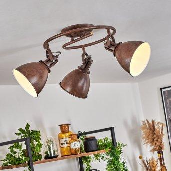 Plafonnier Koppom Rouille, 3 lumières