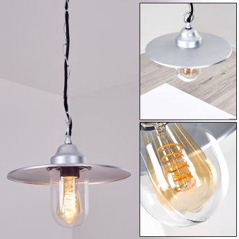 Lampe d'extérieur Mijas Argenté, 1 lumière