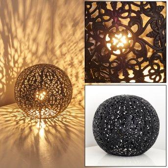 Lampe à poser Kobenhavn Noir, 1 lumière