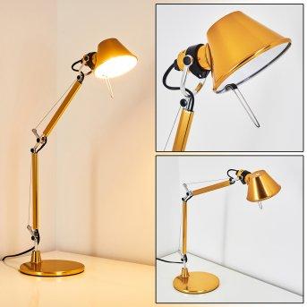 Lampe à poser Artemide TOLOMEO MICRO Jaune, 1 lumière, Changeur de couleurs