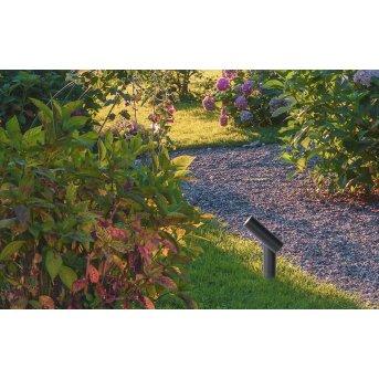 Spot de jardin Lucide TATUM LED Anthracite, 1 lumière