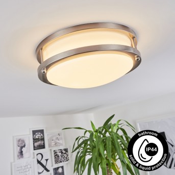 Plafonnier Sora LED Blanc, 1 lumière