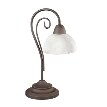 Lampe de table Reality COUNTRY Rouille, 1 lumière