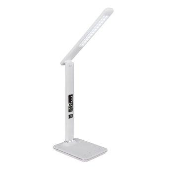 Lampe à poser Globo TANNA LED Blanc, 1 lumière